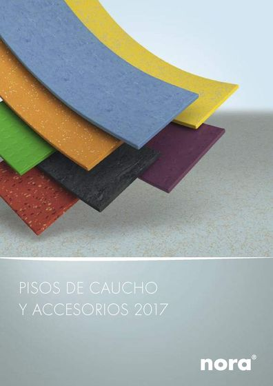 nora® Pisos de caucho y accesorios 2017
