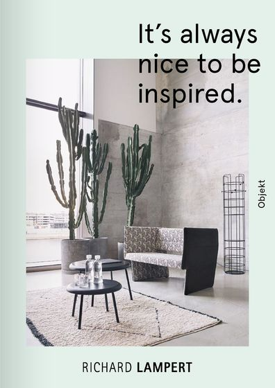 Richard Lampert – It`s  always nice to be inspired.