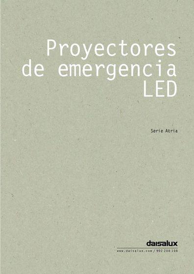 Proyectores de emergencia LED