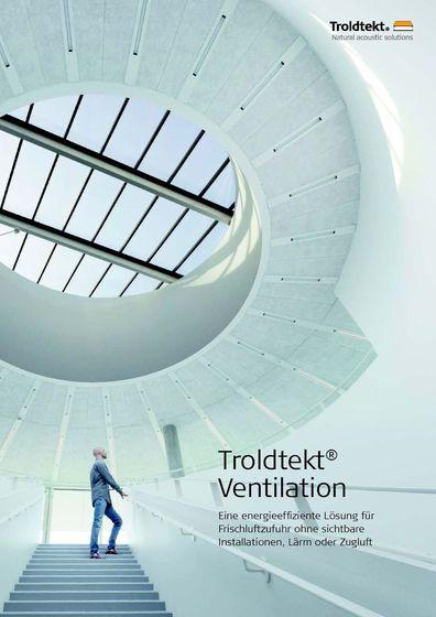 Troldtekt Ventilation