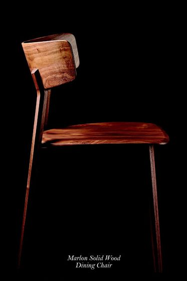 Marlon Solid Wood Dining Chair