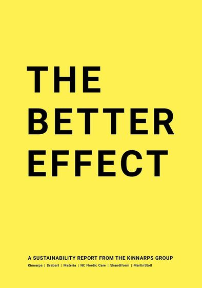 THE BETTER EFFECT – A Sustainability Report from the Kinnarps Group