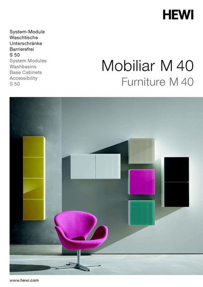 HEWI - Mobiliar M 40