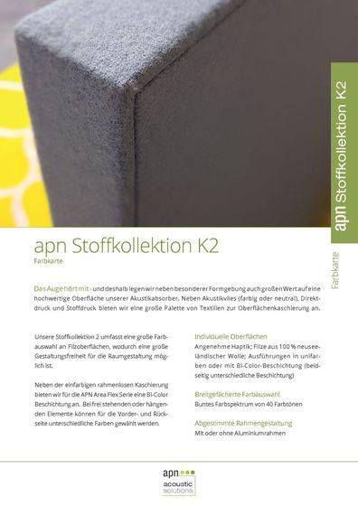 apn Stoffkollektion K2
