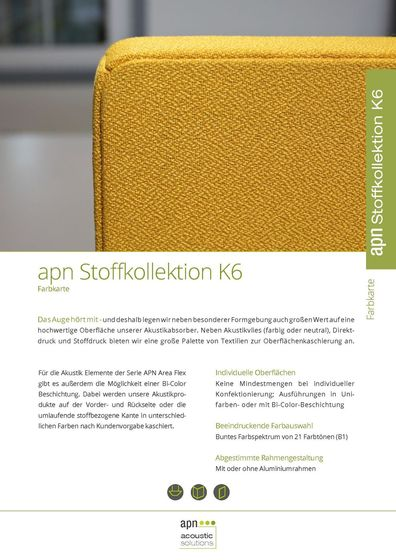 apn Stoffkollektion K6