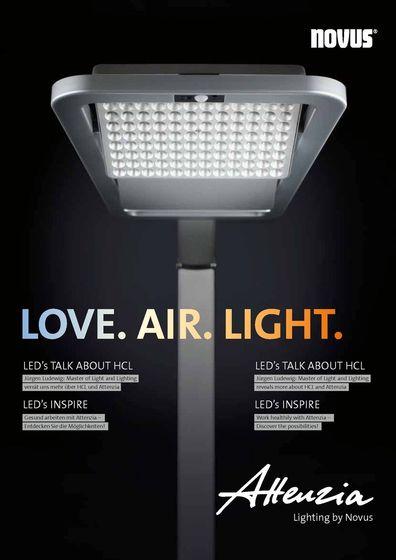 Love. Air. Light.