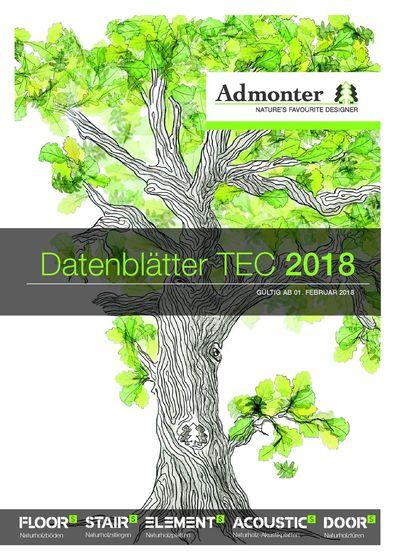 Datenblätter TEC 2018