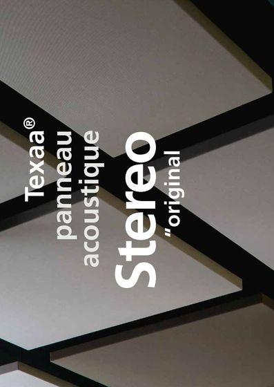 """panneau acoustique Stereo """"original"""