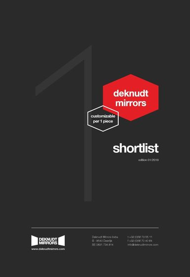 Deknudt Mirrors Customizable Collection