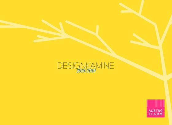 Designkamine Katalog 2018/2019
