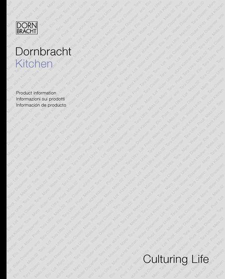 catalogue de dornbracht architonic. Black Bedroom Furniture Sets. Home Design Ideas