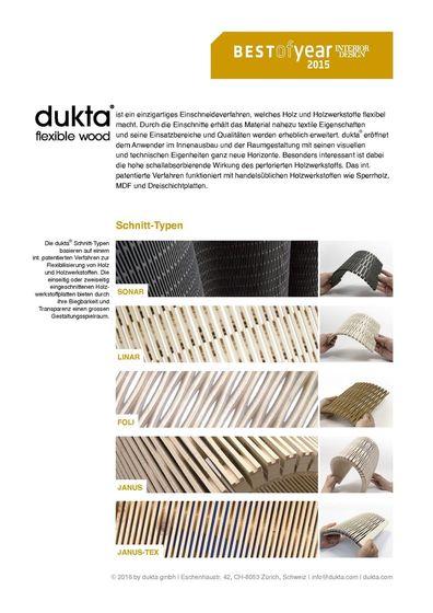 die aktuelle dukta kollektion auf architonic. Black Bedroom Furniture Sets. Home Design Ideas