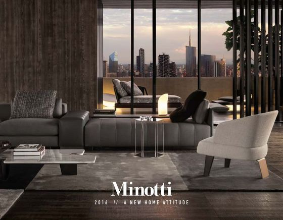 Minotti products collections and more architonic - Meubles minotti ...