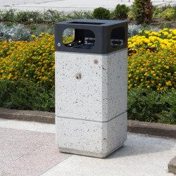 Concrete Litter Bin