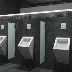 Urinal-Betätigungsplatten
