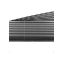 Pleated blinds (braced special types)