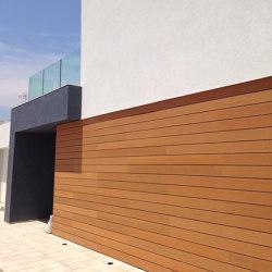 Ecolegno wall cladding