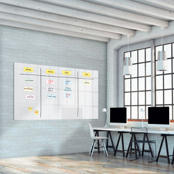 XL Office Magnetic Glass Boards Artverum