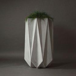 Kronen 90 Concrete Contemporary Planter
