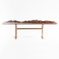 A Table With Mountains For People  Who Have No Mountain In Their Country
