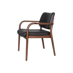Viena Lounge Holzsessel
