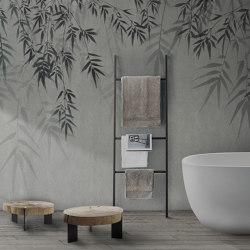 concrete | bamboo leaf