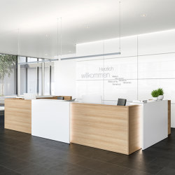 Concepta Reception desk system
