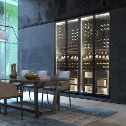 Residential Custom Wine Cabinets