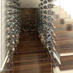 Plexiglass Wine Bottles Holders