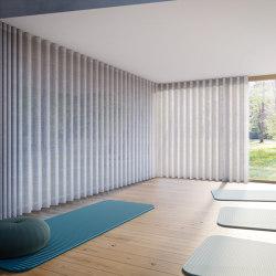 Sistemas de cortina de accionamiento a cordón