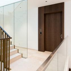 Modern entrance doors