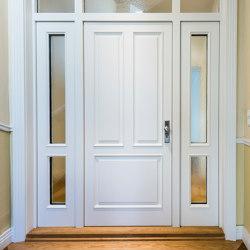 Style entrance doors