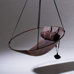 Sling Hanging Chair - Oil Tanned Leather