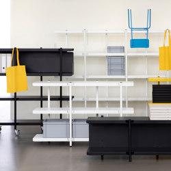 Z shelving system