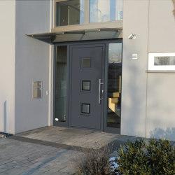 uPVC entry doors