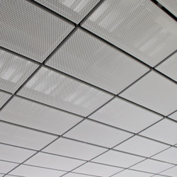 Heated and Chilled Expanded Metal Ceilings