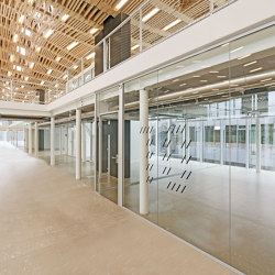 Fully Glazed Partitions