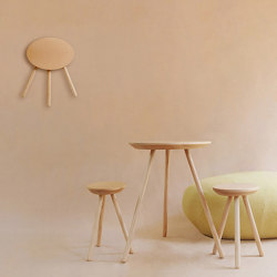 2D stool & table