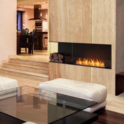 Flex Left Corner Fireplaces