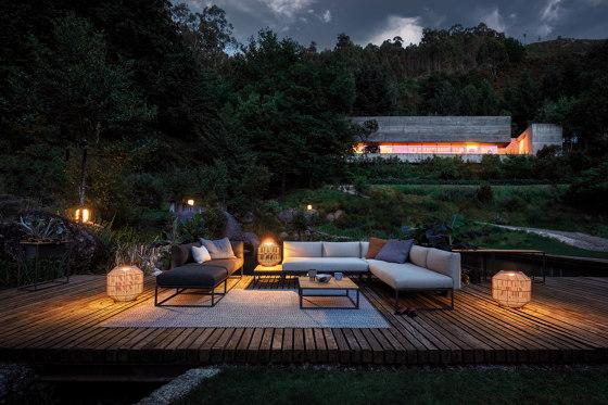 Maya Teak Planter Meteor by Gloster Furniture GmbH