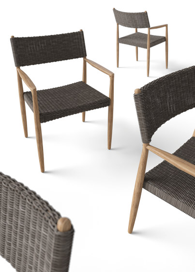 Tundra Dining Chair With Arms de Gloster Furniture GmbH
