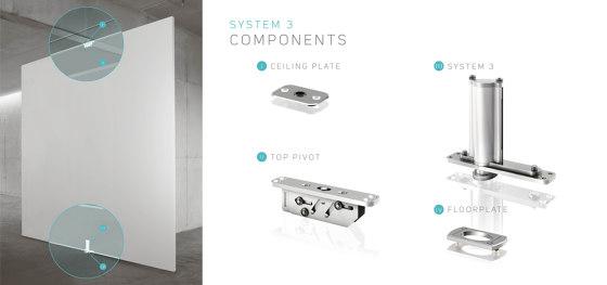 System 3 | Pivoting Bookshelf Doors by FritsJurgens