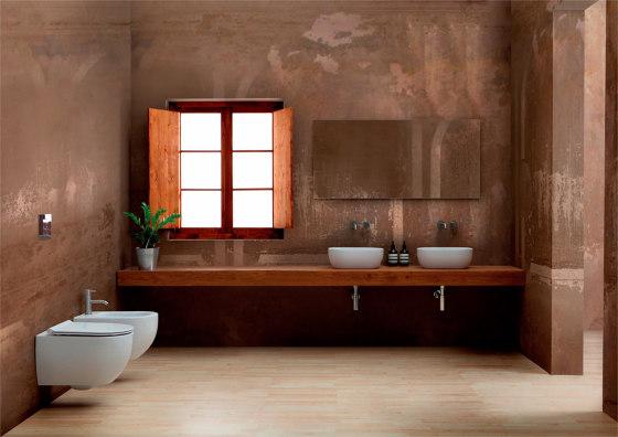 Washbasin Unica Rectangular by Alice Ceramica