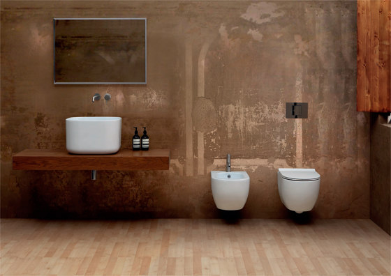 Bidet Hung Unica 55 by Alice Ceramica