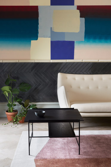 Kanso Coffee Table | Black frame von Please Wait to be Seated