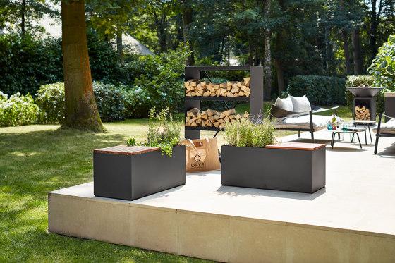 Herb Garden Bench Black von OFYR