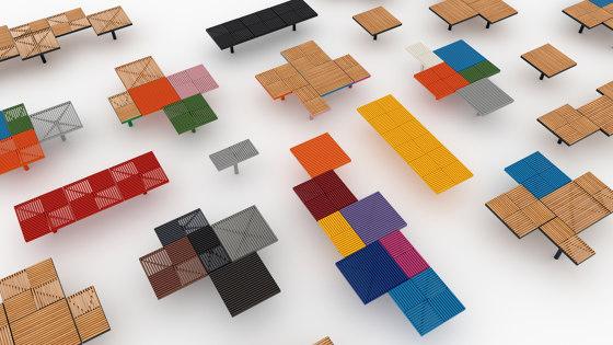 pixel | Parkbank von mmcité