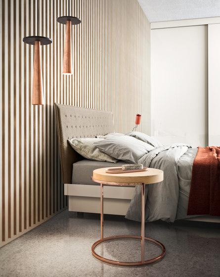 Alfa platform bed by Pianca