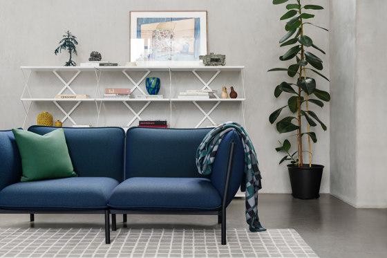 Kumo Sofa 2-Seater Graphite by Hem Design Studio