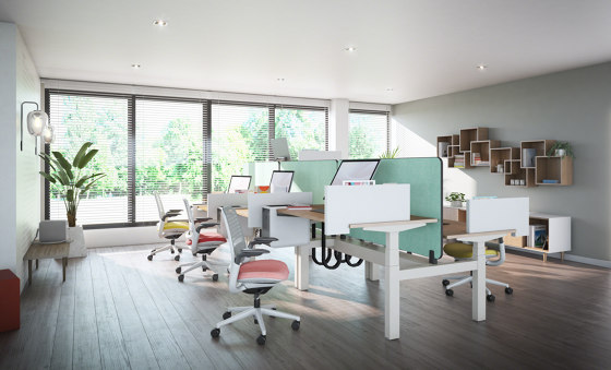 Migration Bench Desks From Steelcase Architonic